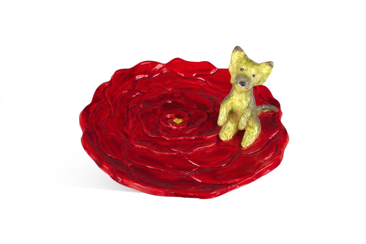 декоративная тарелка для колец на заказ