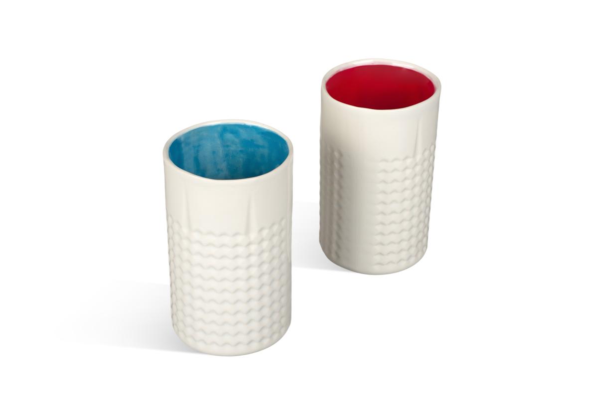 керамический стакан ручной работы на заказ
