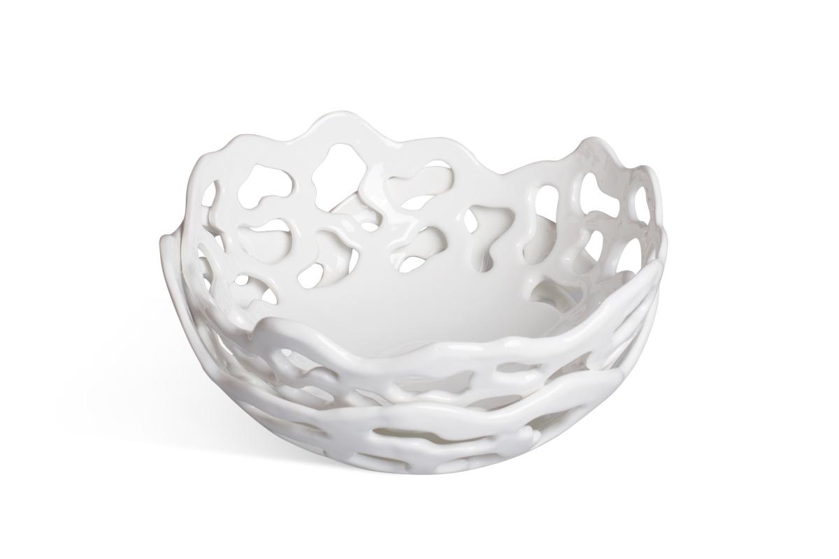 Керамическая ваза для фруктов на заказ