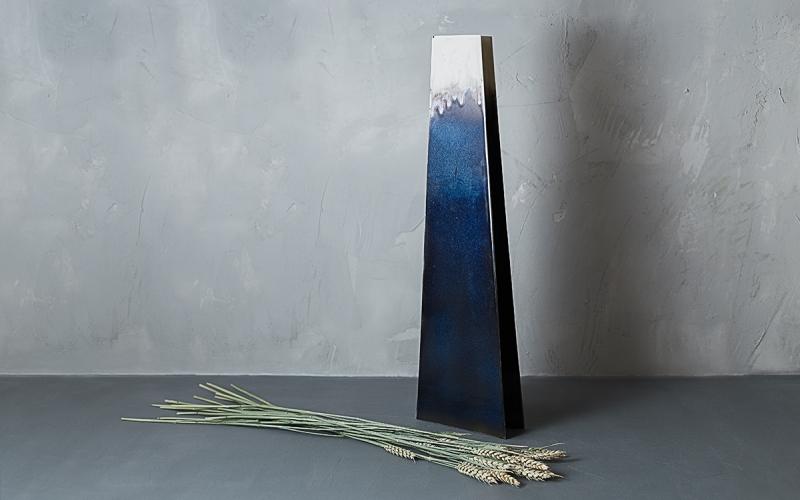 керамическая ваза ручной работы в интерьер