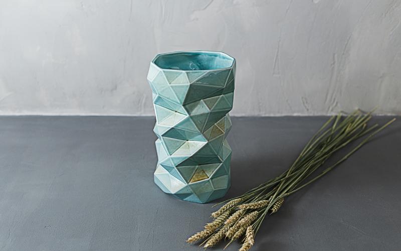 керамические вазы ручной работы на заказ