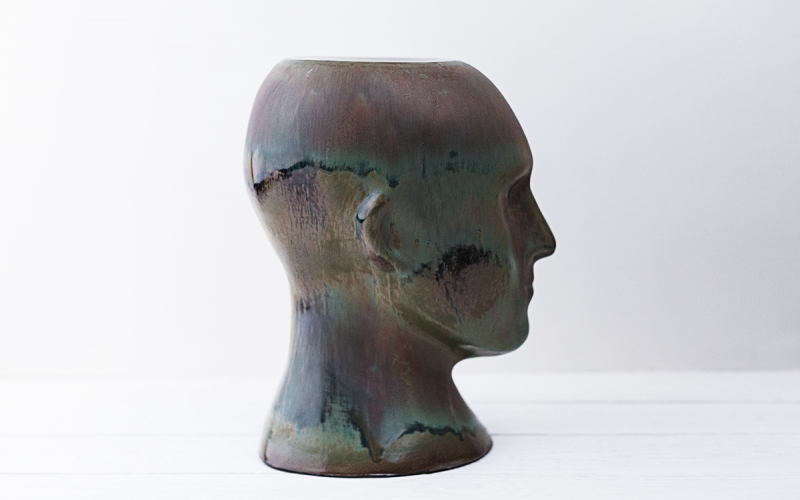 оригинальная ваза ручной работы декор интерьера