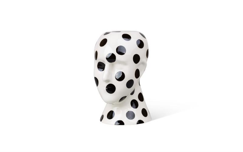 дизайнерская ваза голова