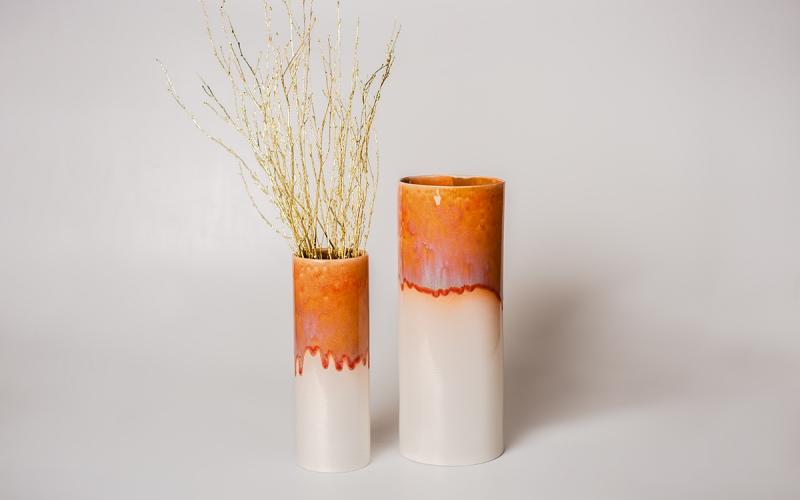 авторская керамика керамическая ваза