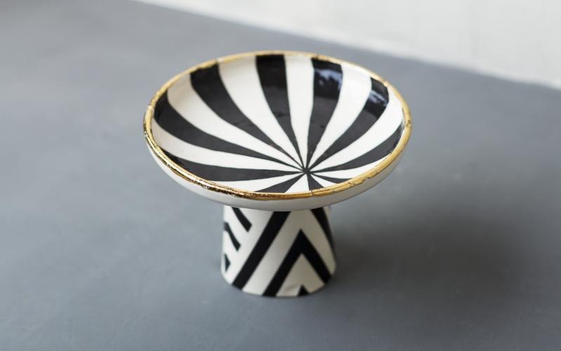 керамическая чаша декор интерьера