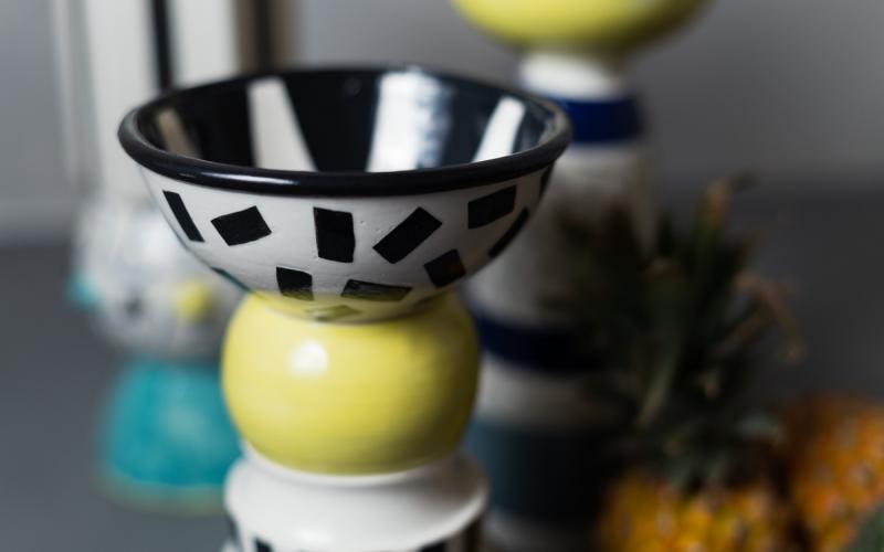декоративная чаша керамика авторская работа