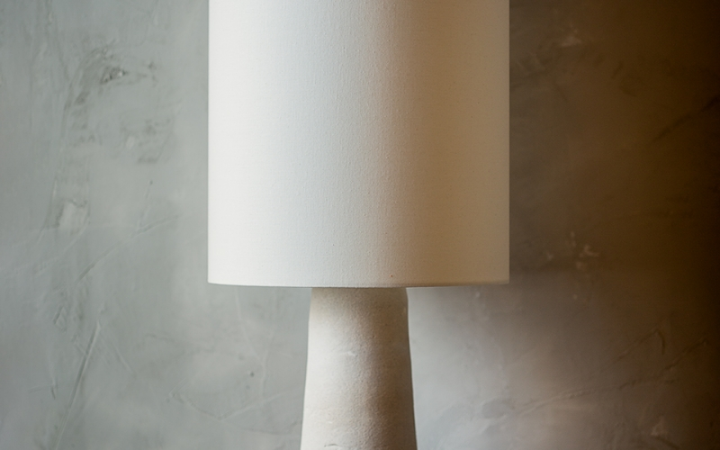 напольная лампа ручной работы