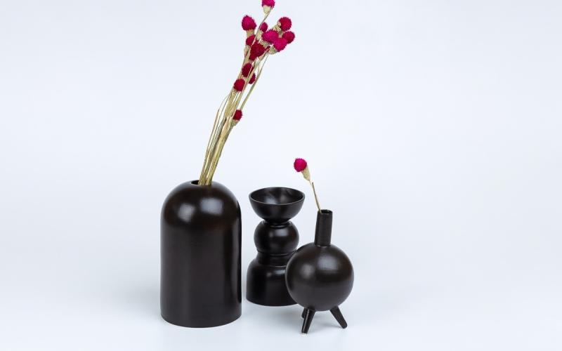 керамический светильник ручной работы