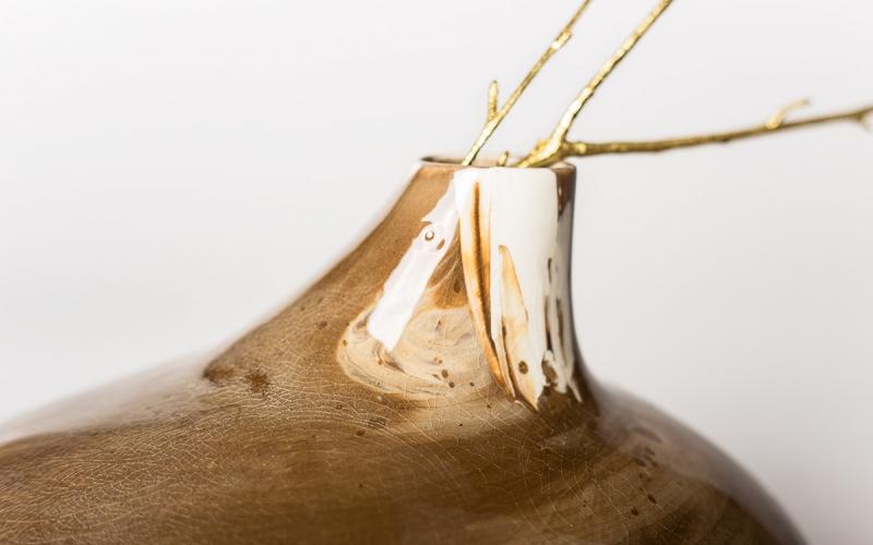 керамическая ваза авторская керамика