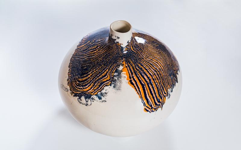 керамическая ваза ceramum ручная работа