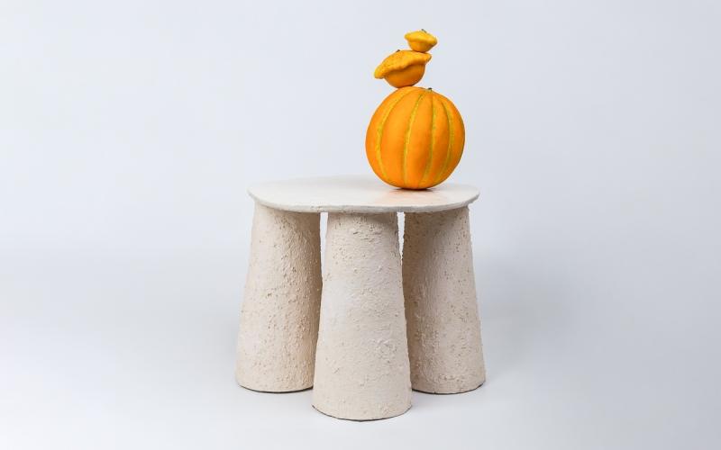керамический столик ручная работа