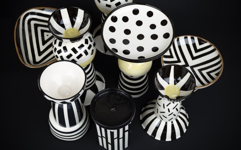 керамические подсвечники ручной работы