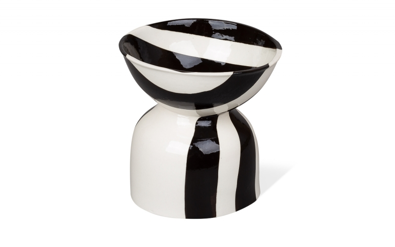 керамическая чаша с ручной росписью