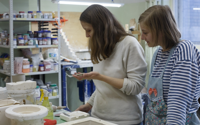 керамическая мастерская Москва