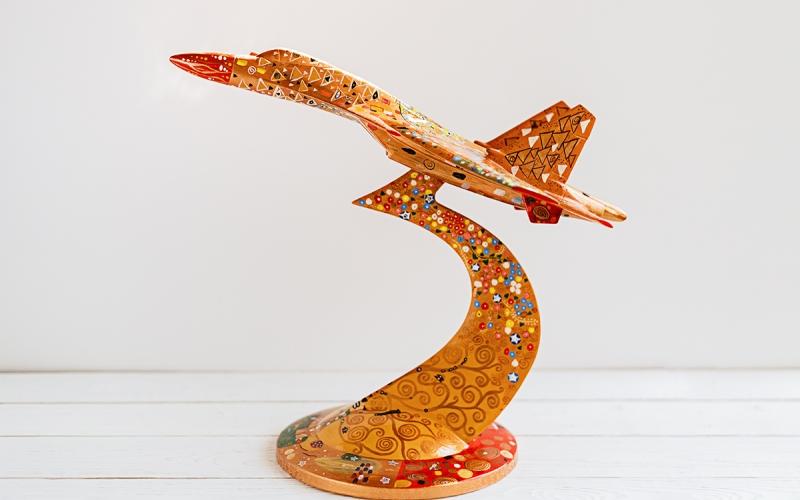 керамический сувенир самолет на заказ