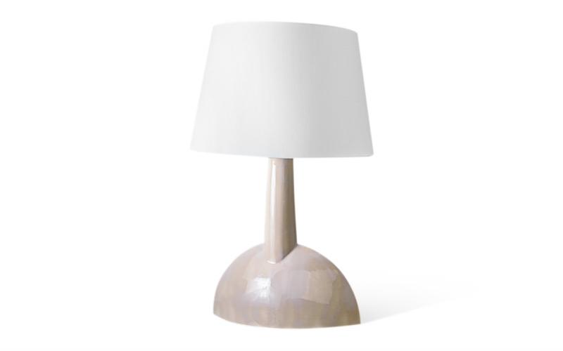 керамическая настольная лампа на заказ