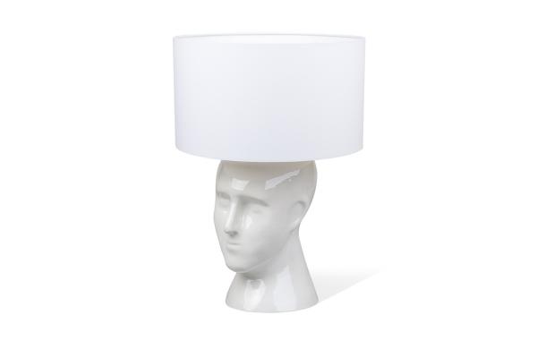 настольная керамическая лампа ручной работы