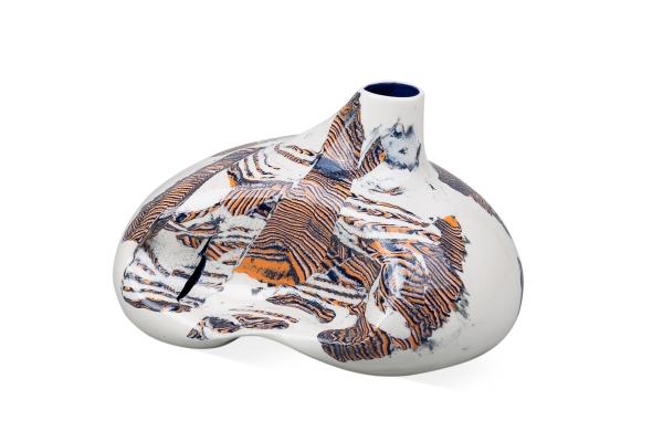 арт объект декоративная ваза