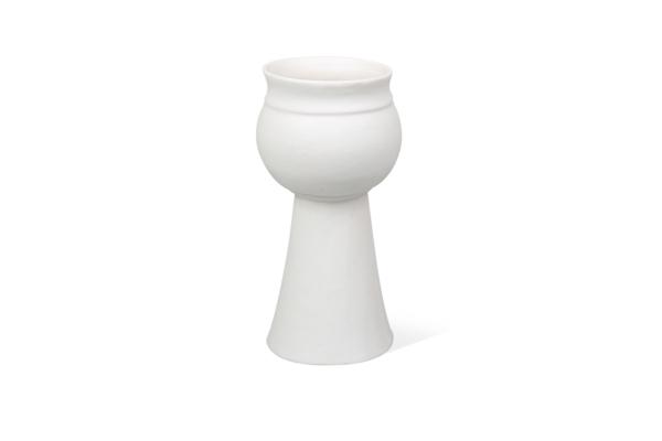 керамический подсвечник ручной работы