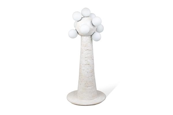керамическая напольная лампа