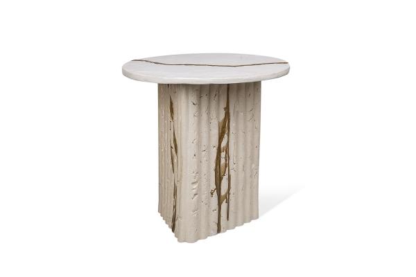 керамический столик ручной работы