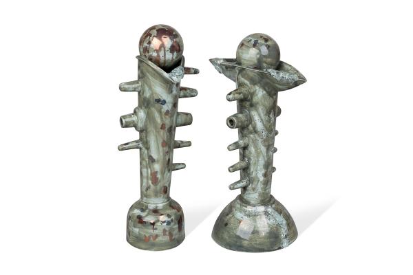 керамический арт объект ручная работа