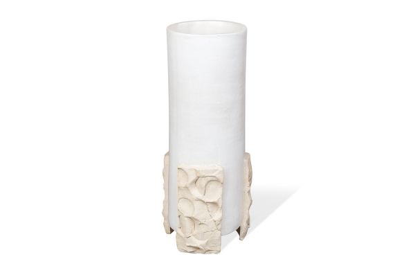 керамическая ваза из шамота