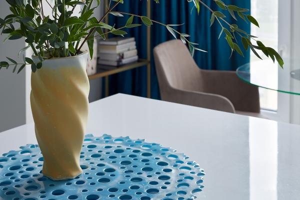авторская керамика декор ваза