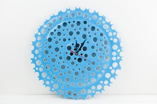 керамические часы ручной работы в подарок