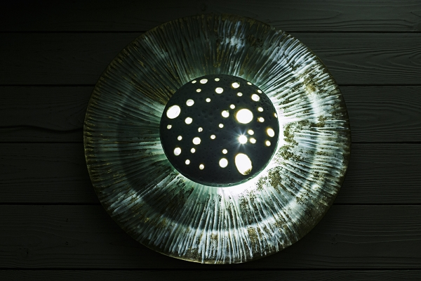 авторская керамика светильник ручной работы купить