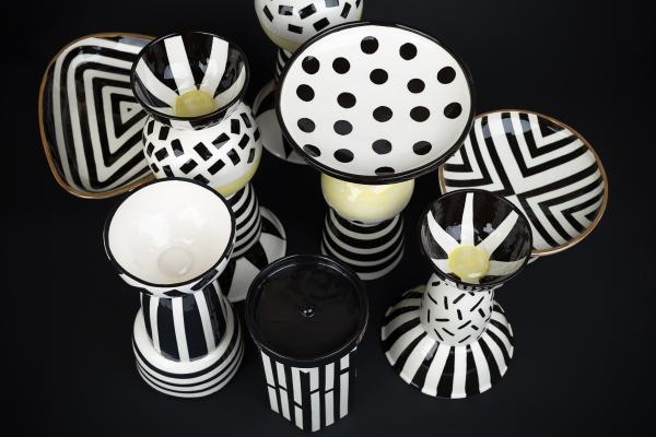 керамическая чаша ручная роспись