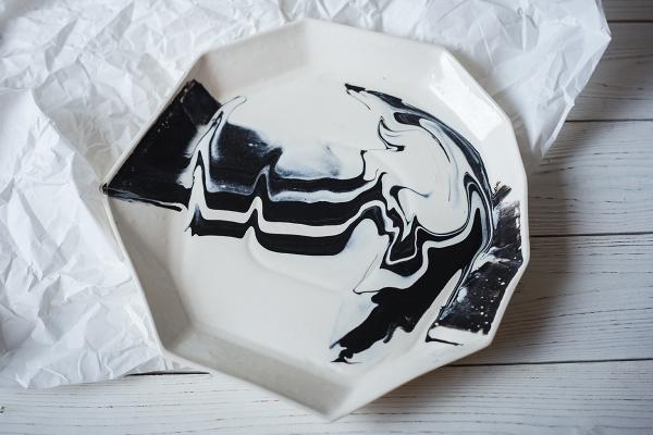 тарелка 28см столовый фарфор