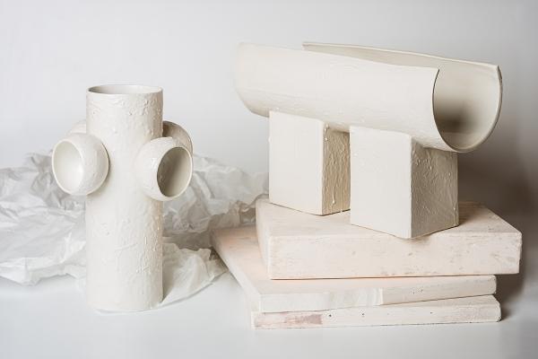 авторская керамика ваза керамическая