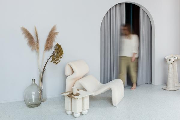 керамический столик авторская керамика