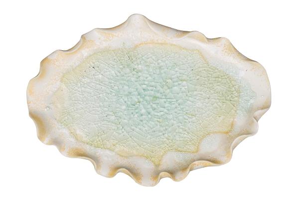 керамическое блюдо авторская керамика