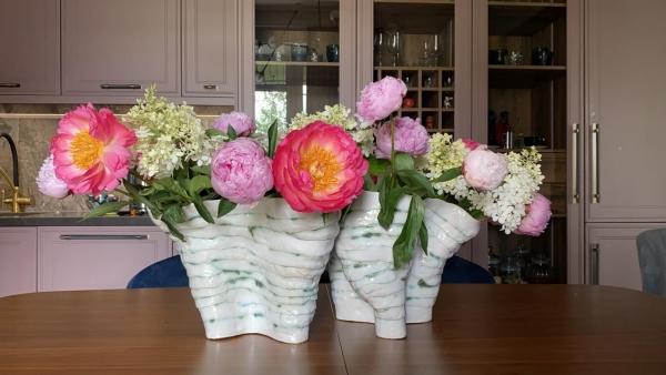 ваза ручной лепки ceramum