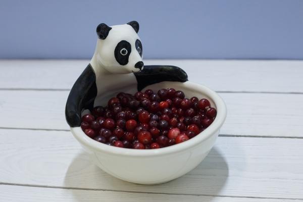посуда для детей панда