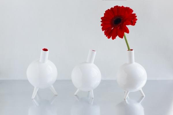 необычная ваза на заказ ручной работы