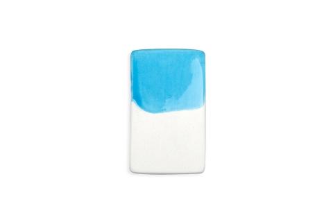 Ярко-голубой цвет керамическая посуда на заказ