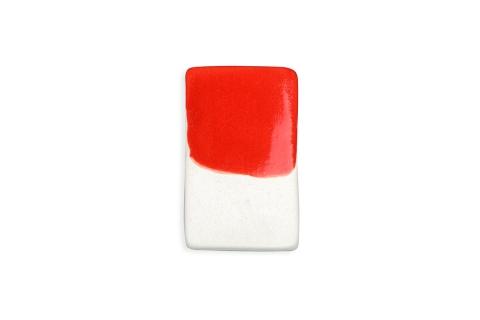 Ярко-красный ля керамики ручной работы