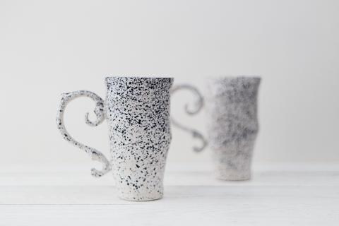 керамические чашки ручной работы